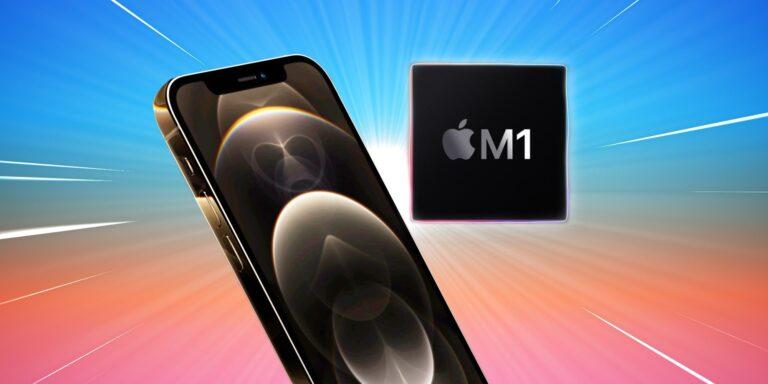 M1 chippel érkezhetnek az új iPhone-ok is?